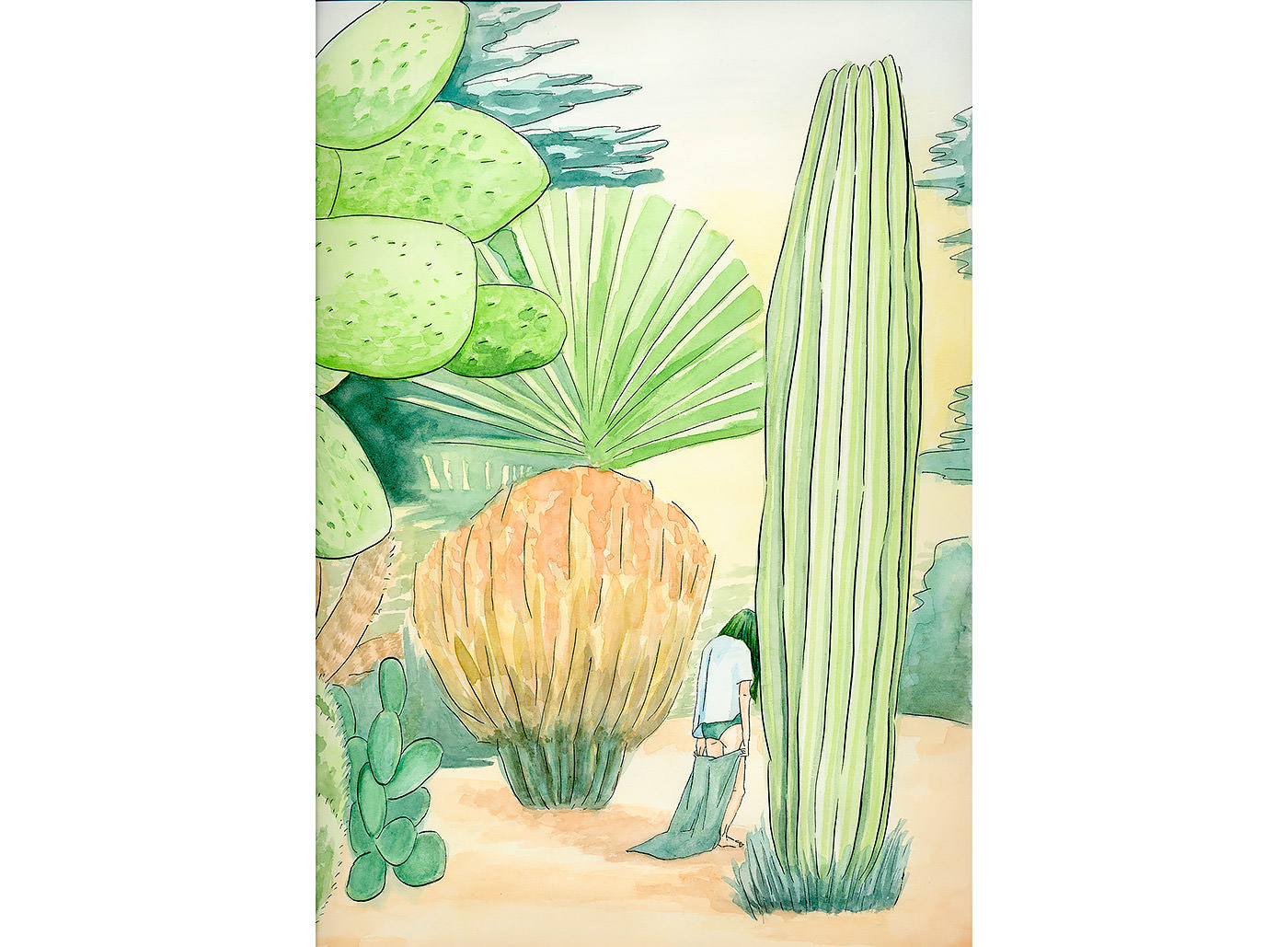 untitled, water color on paper, 384 mm × 267 mm, 2015